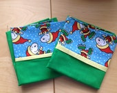 Peanuts Christmas Themed Pillow Case