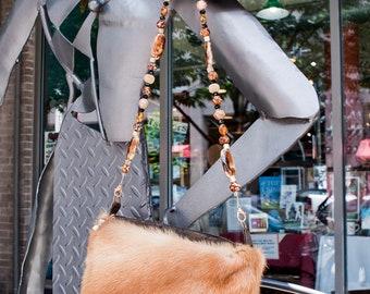 Vintage Golden Mink Handbag