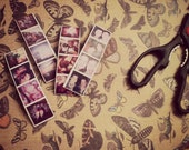 SALE -  Half Off Custom Photo Strip Magnets