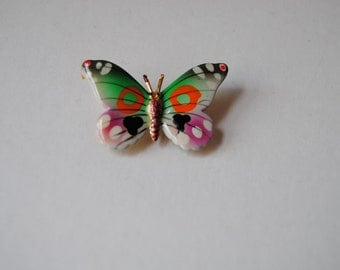 vintage brooch butterfly design