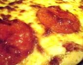 Meaty Garlic Pizza Recipe