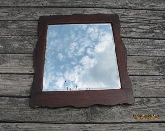 Primitive Mirror Etsy