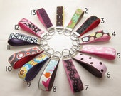 Pick any Three Key Fobs - Wristlet - Key Chain - Ready to Ship - FREE SHIPPING
