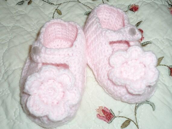 Tiny Dancer Pink Booties