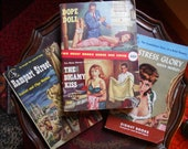 3 Pulp Fiction Novels