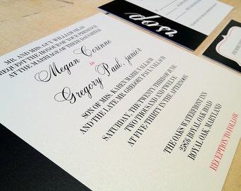 Custom Nautical Digital Wedding Invitation Suite