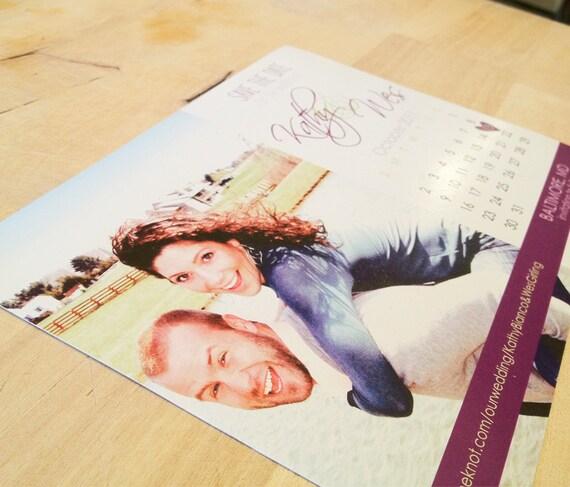 Custom Calendar Photo Save The Date