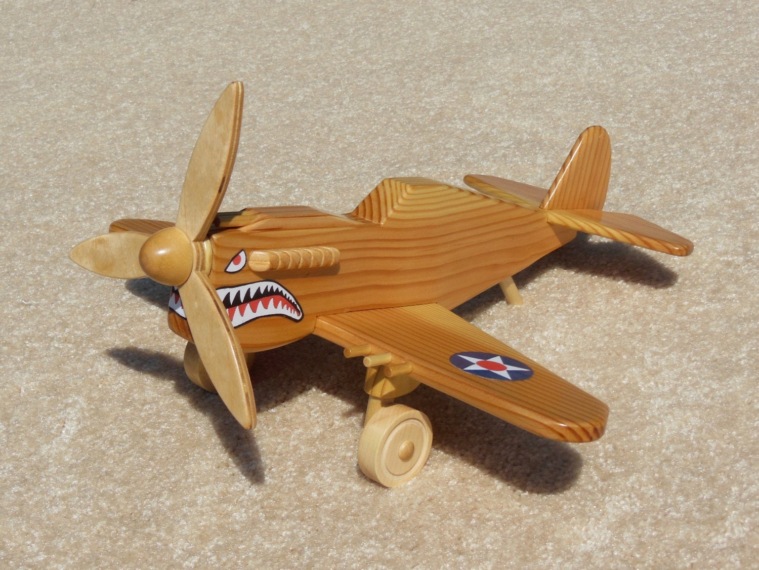 ... Wooden P 40 Fighter Flying Tiger Toy also Wooden Toy Storage Box Plans