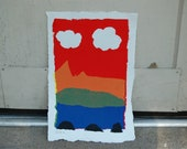"""Monsterland - Screen Printing on Paper - 21"""" x 13"""""""