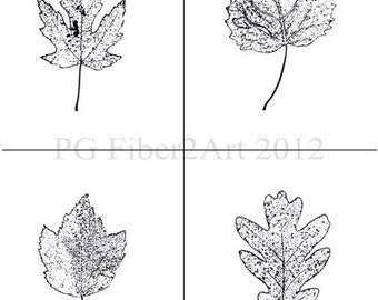 Thermofax Leaf Collection or Individual Leaves