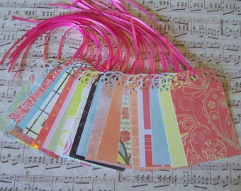 Wedding Wish Tree Tags Brights Collection Wedding Shower, Decoration, Favor Tags, DIY Tags, Place Cards, Escort Cards