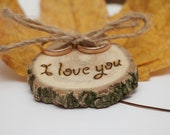 rustic ring bearer, rustic wedding, rustic favor, rustic decor, rustic decoration, rustic gift, rustic gift box
