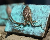 bronze mayfly belt buckle