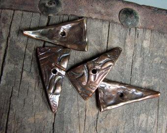 Textured Bronze Shards custom made by Old World Bronze