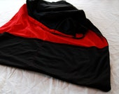 Red and Black Reversible Sling