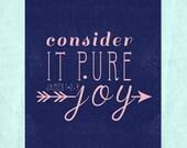 Consider It Pure Joy 8x10 Printable Print