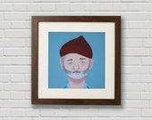 The Life Aquatic 13'' x 13'' Print