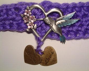 Love Belt with Light Purple