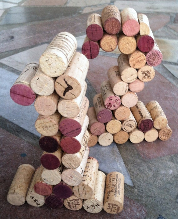 Wine Cork Table Numbers: Wine Cork Table Numbers Great For Weddings Or Parties
