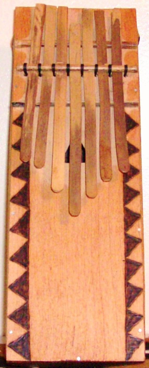 """Ndong (Bamileke-style bamboo """"thumb piano"""")"""