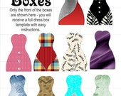 Dress-Shaped Favor Boxes