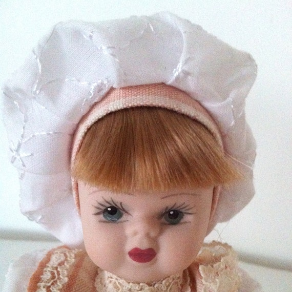 Vintage Porcelanna Capodimonte Porcelain Hand Made Doll made in Italy