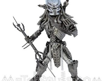 Scar Predator Sculpture