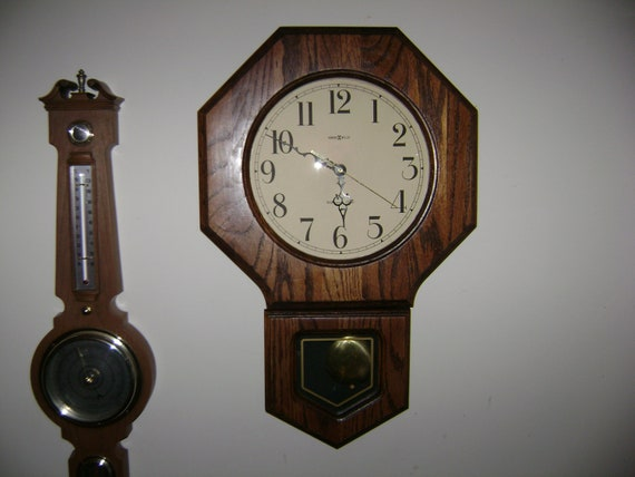 Items Similar To Vintage 1980 Quot S Howard Miller Wall Clock