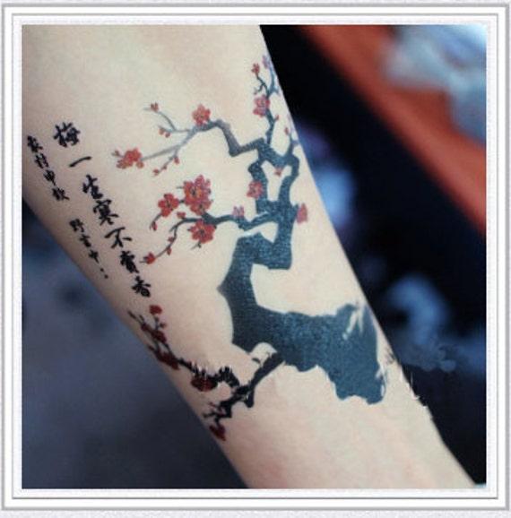 tattoo temporary long lasting tattoo flower tattoo