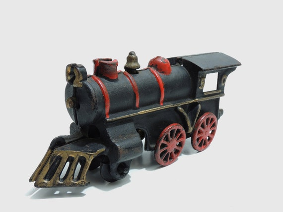 Nycrr Cast Iron Train: Items Similar To Cast Iron Train Engine No. 50 On Etsy