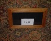 6x12 license plate frame solid rustic cedar picture photo craft oak finish country rustic panoramic display