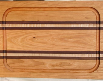 "Grooved Cutting/Carving Board 22.5"" L x 15"" W x 1.125"" T"