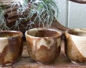 """3 Piece Stoneware Cup Set """"FREE SHIPPING"""""""