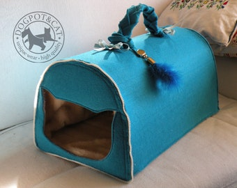 Dogpot&Cat cats house MADE TO ORDER