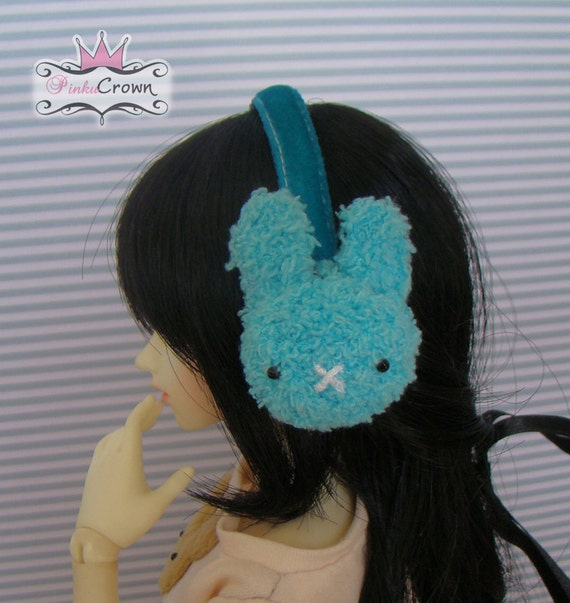 Blue Rabbit Earmuffs - MSD