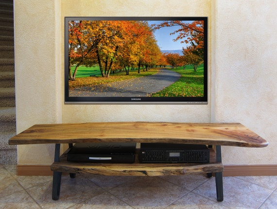 Live Edge Solid Slab Log TV Stand Free Shipping : il570xN359677760ijs4 from www.etsy.com size 570 x 431 jpeg 78kB