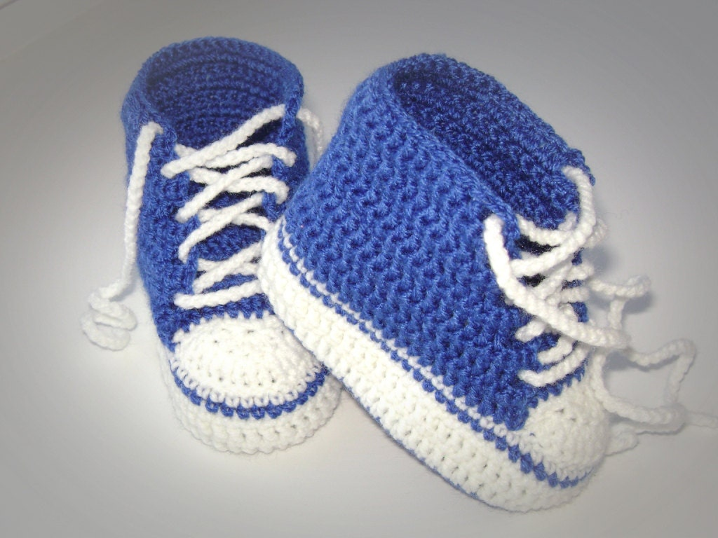 Crochet patterns PDF Baby Boy Booties Pattern by Childhaps