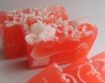 Soap - Coco Mango  - Handmade Glycerin Soap - Fruity Soap