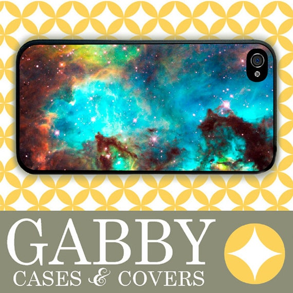 iPhone 6 Case, iPhone 6 Plus Case, iPhone 6 Edge Case, iPhone 5 Case, Galaxy S6 Case, Galaxy S5 Case, Galaxy Note 5 Case - Nebula Aqua