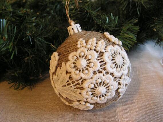 Новогодний шар на елку своими руками фото