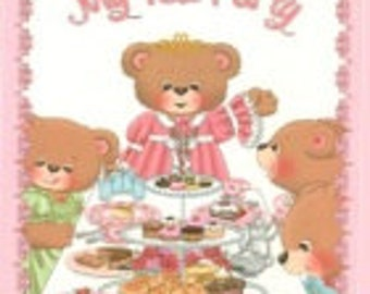 My Tea Party- personalized children's storybook