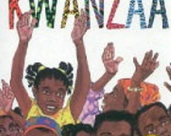 The Seven Candles for Kwanzaa- personalized storybook