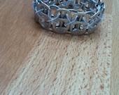 Stretchy Pop tab/soda tab bracelet