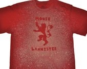 A Game of Thrones House Lannister T-Shirt
