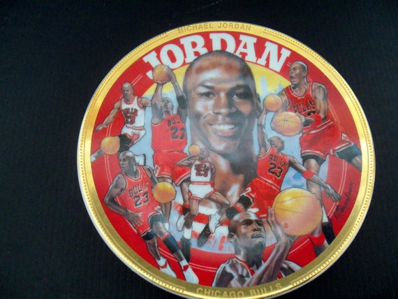 Collectible Michael Jordan Plate 1992 NBA