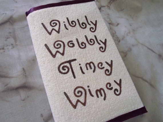 Wibbly Wobbly Timey Wimey - Adjustable Paperback Book Cover