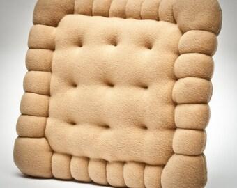 Cozy cookie pillow