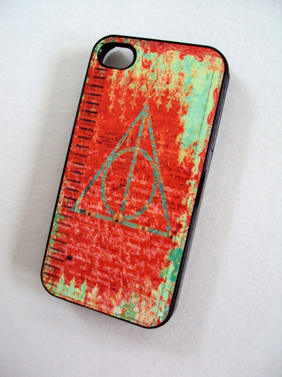 SALE Deathly Hallows iPhone 4 / 4S Sassy Cases Plastic Hard Case