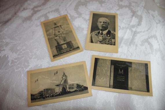 Italian Pavilion Card Set - 1939 World's Fair NY