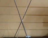 """FOUR (4) Collapsible 18""""H Metal Wig/Hat/Banana Stands"""